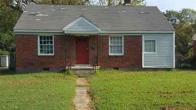 Memphis Single Family Home For Sale: 3254 Lamphier