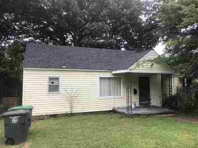 Memphis Single Family Home For Sale: 3736 Mason
