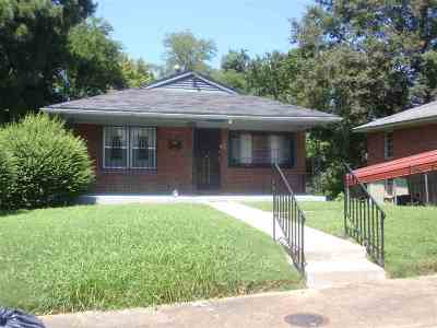 Memphis Single Family Home For Sale: 358 W Fields