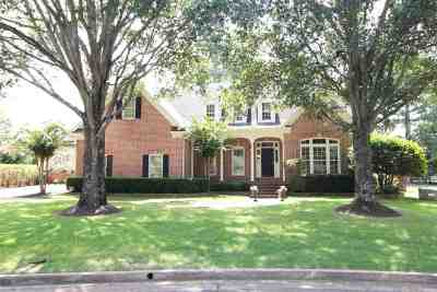 Collierville Single Family Home For Sale: 10373 Whealdon