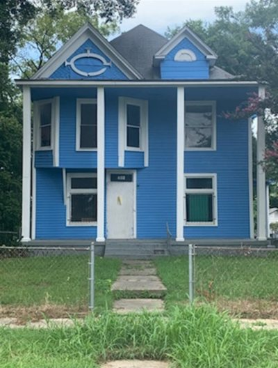 Memphis TN Single Family Home For Sale: $18,000