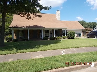 Memphis TN Single Family Home For Sale: $157,500