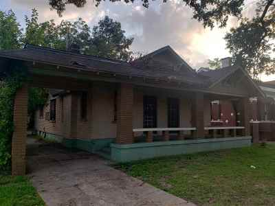 Single Family Home For Sale: 1251 Lamar