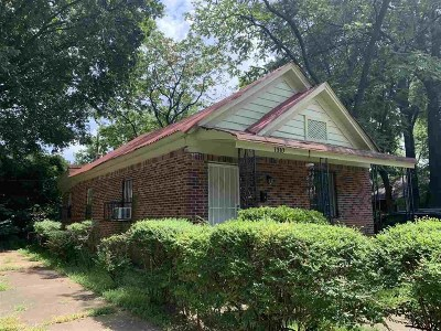 Memphis Single Family Home For Sale: 1310 Cummings