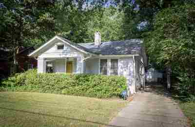 Memphis TN Single Family Home Contingent: $249,900