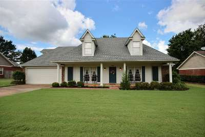 Collierville Single Family Home Contingent: 596 Charles Hamilton
