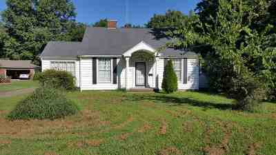 Ripley Single Family Home For Sale: 184 S Jefferson