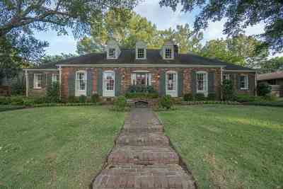 Memphis Single Family Home Contingent: 4253 Minden
