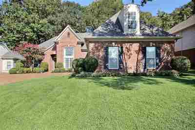 Collierville Single Family Home Contingent: 1440 River Pine