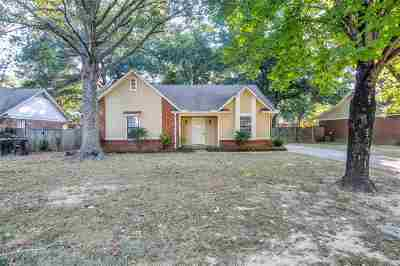 Collierville Single Family Home For Sale: 1160 Verlington