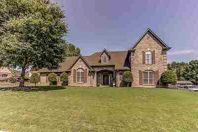 Bartlett Single Family Home Contingent: 7520 Forrest Shadow