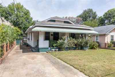 Memphis Single Family Home For Sale: 2092 Evelyn