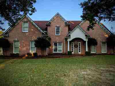 Collierville Single Family Home Contingent: 1606 Courtfield