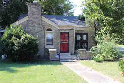 Single Family Home For Sale: 1643 Jackson