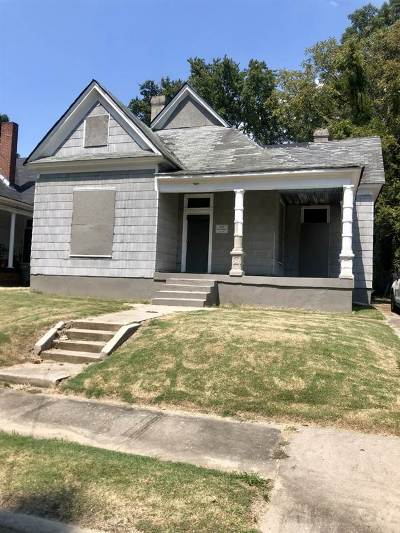 Memphis Single Family Home For Sale: 632 Looney