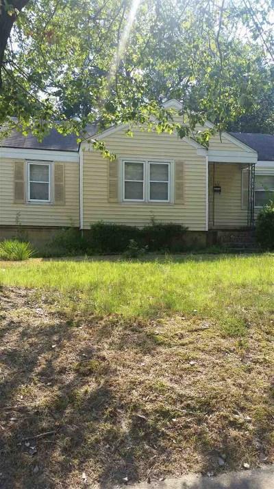 Memphis Single Family Home For Sale: 3071 McCool