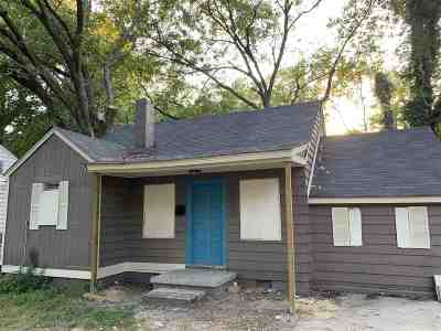 Memphis Single Family Home For Sale: 883 Kippley