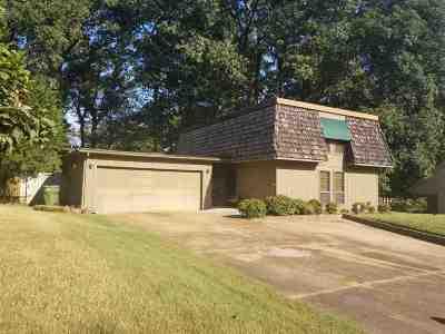 Memphis Single Family Home For Sale: 4931 Gardenwood