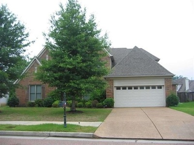 Collierville Rental For Rent: 4883 White Pass