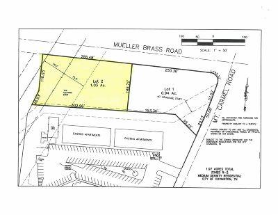 Covington Residential Lots & Land For Sale: Mueller Brass/Mt. Carmel