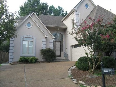 Memphis Single Family Home For Sale: 8608 E Windemere