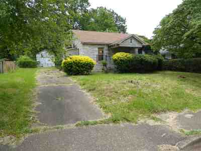 Memphis TN Single Family Home Sold: $12,000