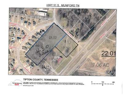 Munford Residential Lots & Land For Sale: Hwy 51