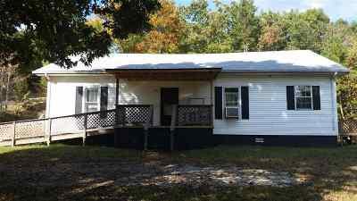 Waynesboro Single Family Home For Sale: 1245 E Old Hwy 64 E