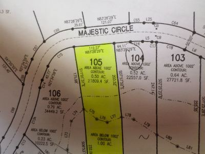 Dandridge Residential Lots & Land For Sale: Lot 105 Majestic Circle