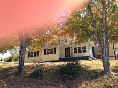 Washburn TN Single Family Home For Sale: $59,900