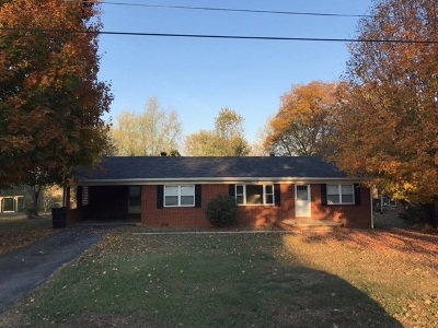 Talbott TN Single Family Home Sold: $117,000
