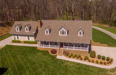 Morristown Single Family Home For Sale: 1545 Carroll Road