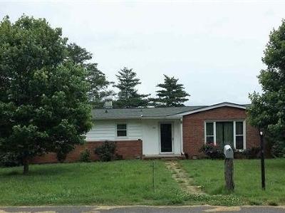 Morristown Single Family Home For Sale: 521 E Hillcrest Dr.