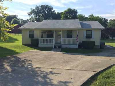 Morristown TN Single Family Home Sold: $124,900