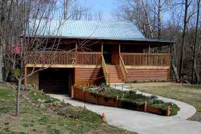 Single Family Home For Sale: 3283 Cosby Creek Road