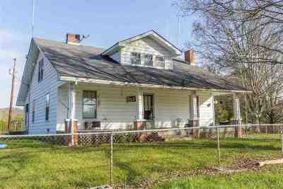 Russellville Single Family Home For Sale: 2707 Warrensburg Rd