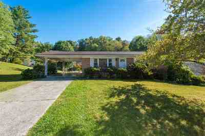 Morristown Single Family Home For Sale: 1316 Hickory Lane