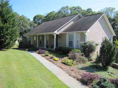 Single Family Home For Sale: 4855 Cameron Rd