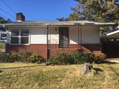 Newport Single Family Home For Sale: 544 Red Oak Street
