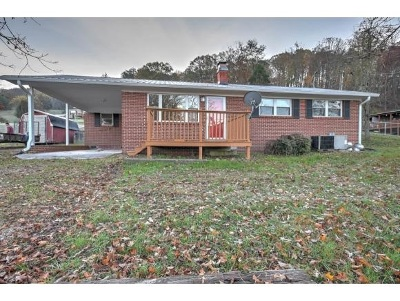 Grainger County Single Family Home For Sale: 1610 County Line Road