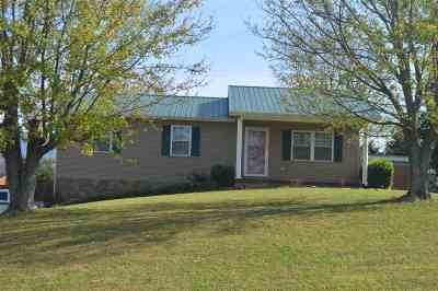 Single Family Home For Sale: 1245 Houston Valley Rd.