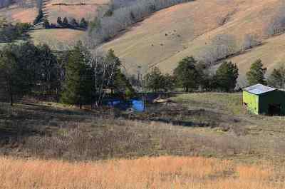 Grainger County Residential Lots & Land For Sale: Dry Valley Rd 18 Ac