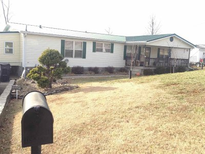 Russellville Mobile/Manufactured For Sale: 1123 Mt Vista Dr