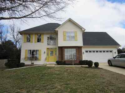 Hamblen County Single Family Home For Sale: 1448 Hickory Shadow Drive