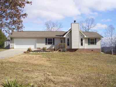 Grainger County Single Family Home For Sale: 574 Deer Ridge Drive