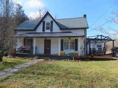 Single Family Home For Sale: 420 Vinson Hollow Road
