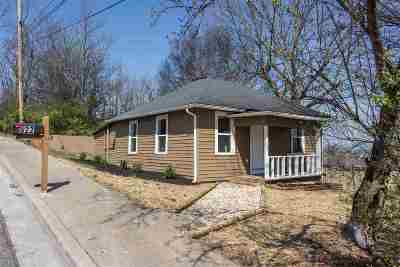 Morristown TN Single Family Home For Sale: $84,900