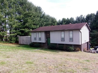 Morristown TN Single Family Home For Sale: $109,000