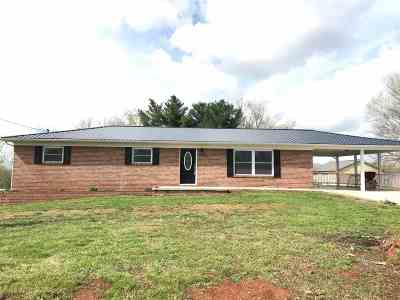 Talbott Single Family Home For Sale: 263 Old Poplar Ridge Road