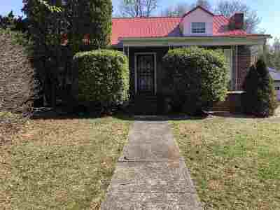 Morristown TN Single Family Home For Sale: $79,900